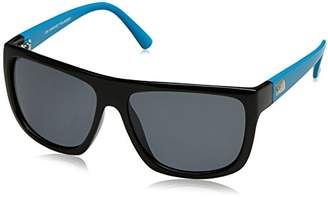 Carve Sanchez Polarised Men's Sunglasses Black/Blue