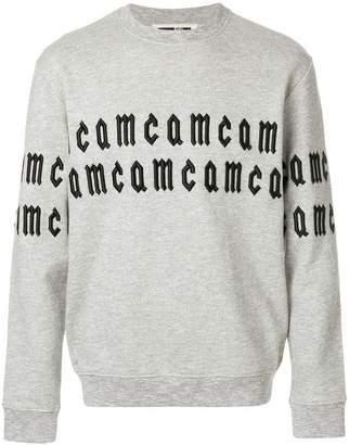 McQ repeated logo sweatshirt