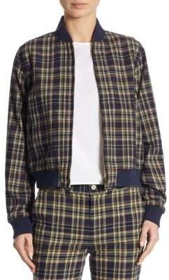 Polo Ralph Lauren Reversible Plaid Baseball Cotton Jacket
