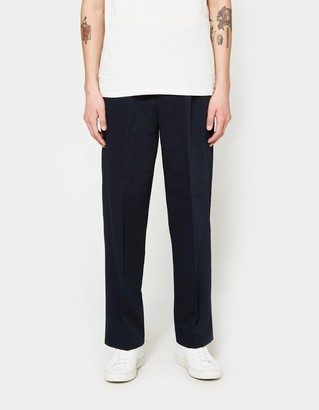2 Pleats Wide Leg Trousers $365 thestylecure.com