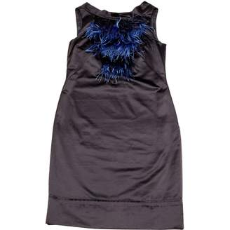 HUGO BOSS Blue Cotton Dresses