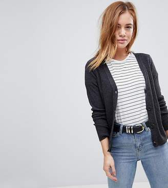 Cardigan In Rib With Button Detail - Blush Asos Browse Cheap Online Cost Outlet Store DEoyPae