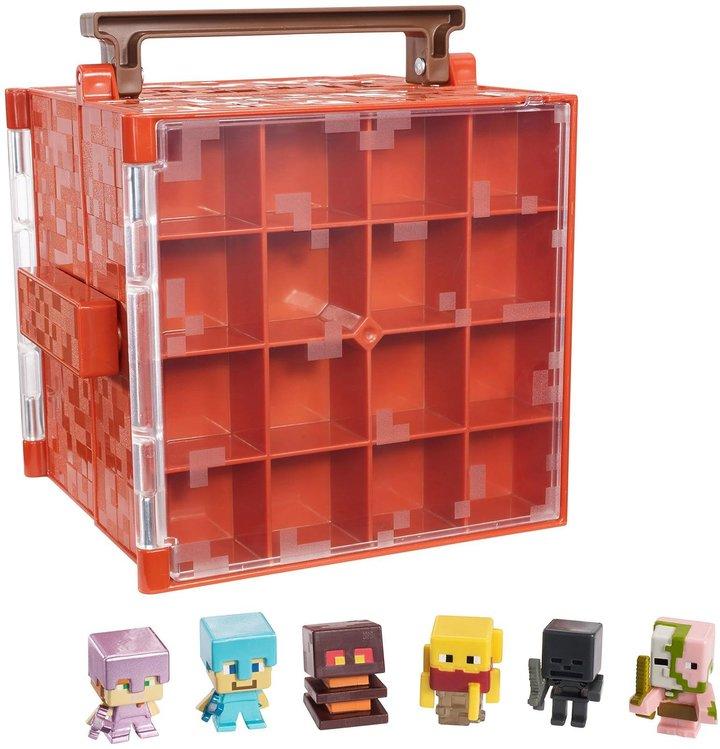 Mattel Minecraft Mini Figure Collector Case Display Case