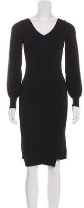 Burberry Knit Knee-Length Dress