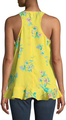 London Times Floral High-Low Tank