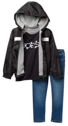Joe's Jeans Jacket, Tee, & Jeans Set (Toddler Boys)