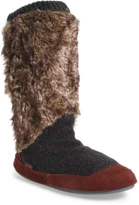 Acorn Slouch Slipper Boot