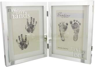 Bambino Silver Plated Frame Tiny Hands & Feet