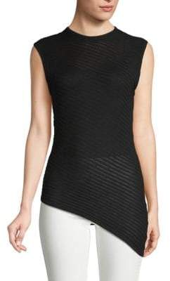Cheap Monday Ribbed Sleeveless Cotton Top