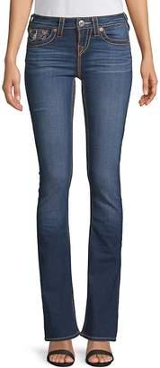 True Religion Women's Five-Pocket Bootcut Jeans - Eclipse, Size 28 (4-6)