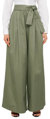 Tome Cropped Cotton Karate Pant (Cropped)