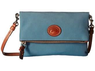 Dooney & Bourke Nylon Foldover Zip Crossbody