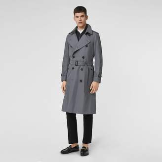 Burberry The Long Chelsea Heritage Trench Coat , Size: 44, Grey