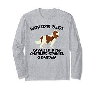 World's Best Cavalier King Charles Spaniel Grandma Shirt
