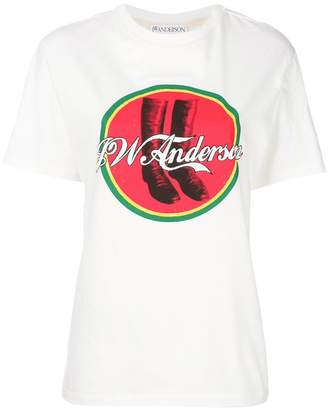 J.W.Anderson Cola boots T-shirt