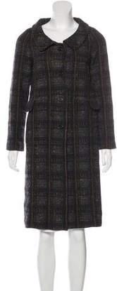 Marni Tweed Plaid Coat