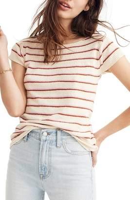 Madewell Marin Stripe Sweater Tee