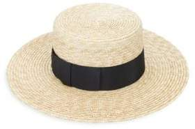 Lola Hats Lola Boater Straw Hat