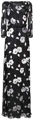 Carolina Herrera floral long dress
