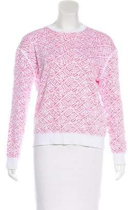Kenzo Patterned Long Sleeve Sweater