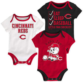 Outerstuff Cincinnati Reds Play Ball 3-Piece Set, Infants (0-9 Months)