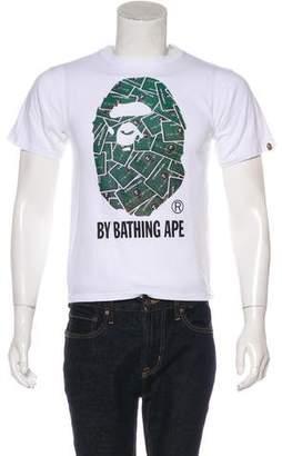 A Bathing Ape Credit Card Ape Head T-Shirt