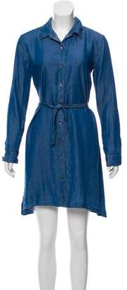 Splendid Denim Mini Shirtdress w/ Tags