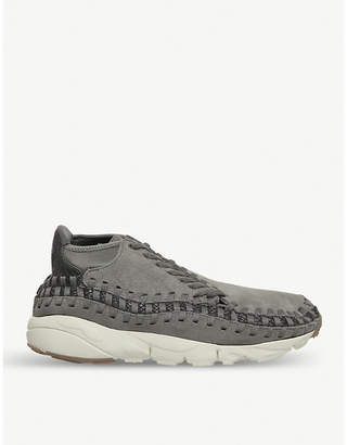 Nike Footscape woven suede trainers