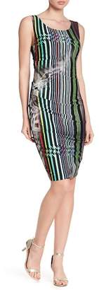 Nicole Miller Lauren Striped Dress