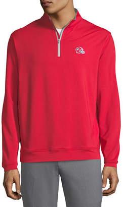 Peter Millar Men's University of Georgia Football Perth Sweater, Red