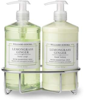 Williams-Sonoma Williams Sonoma Lemongrass Ginger Soap & Lotion, Classic 3-Piece Set