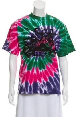 Aries 2018 Tie-Dye Graphic T-Shirt Pink 2018 Tie-Dye Graphic T-Shirt