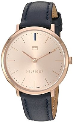 Tommy Hilfiger (トミー ヒルフィガー) - Tommy Hilfigerレディース' Sophisticated Sport ' Quartz Gold andレザーAutomatic Watch , Color : Blue ( Model : 1781693 )