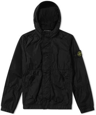 Stone Island Junior Light Nylon Hooded Jacket