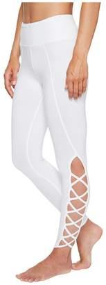 Hard Tail X-Side Ankle Leggings Women's Casual Pants