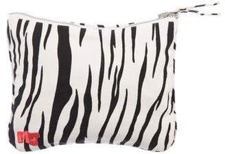 Marc Jacobs Printed Canvas Zip Pouch