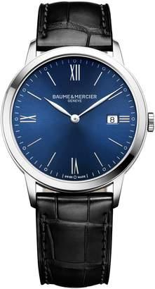 Baume & Mercier Classima Leather Strap Watch, 40mm