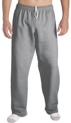 Gildan Big Mens Open Bottom Pocketed Jersey Pant, 2XL