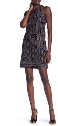 BCBGMAXAZRIA Knit Halter Dress