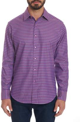 Robert Graham Grayson Printed Long Sleeve Sport Shirt