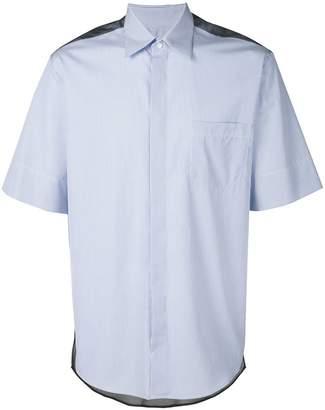 Inês Torcato contrast yoke shirt