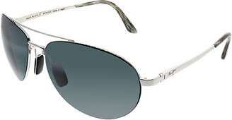 Maui Jim Unisex Pilot 63Mm Sunglasses