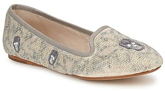 House Of Harlow ZENITH women's Loafers / Casual Shoes in Beige