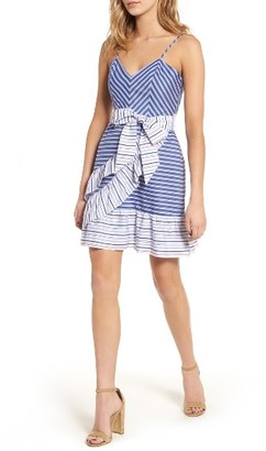 Women's Parker Brooklyn Ruffle Dress $248 thestylecure.com