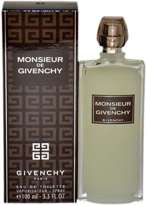 Givenchy Monsieur De 3.3Oz Men's Eau De Toilette Spray