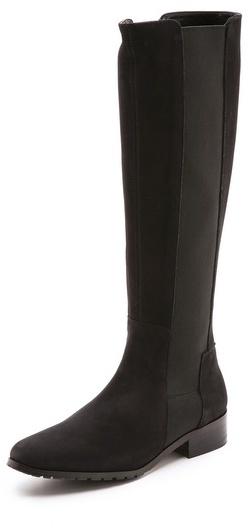 LK Bennett Toni Elastic Insert Tall Boots