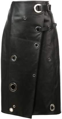 Altuzarra rivet wrap skirt