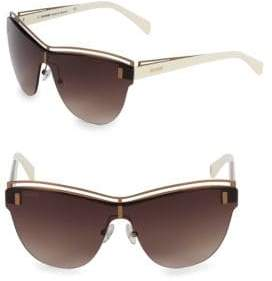 Balmain 70MM Butterfly Sunglasses