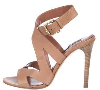 Derek Lam Leather Cutout Sandals