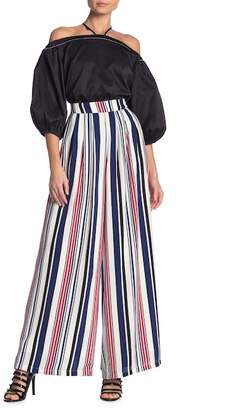 Why Dress Stripe Fabric Casual Wild Pants